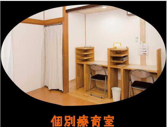 写真: 個別療育室